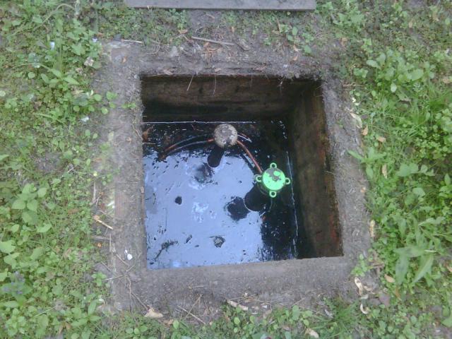 Water in mazouttanks